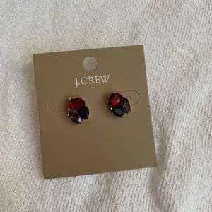 J. Crew jewel stud earrings